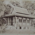 Vietnam(French Indochina) - Saigon - La petit pagodon du jardin botanique(Pagoda in the botanical garden)