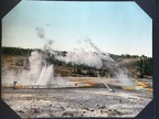 Norris Geyser Basin, Yellowstone National Park, 1902, Detroit Photographic Co.