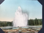 Great Fountain Geyser. Yellowstone National Park, 1902, Detroit Photographic Co.