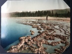 Sapphire Hot Spring, Yellowstone National Park, 1898, Detroit Photographic Co.
